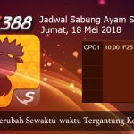 Jadwal Sabung Ayam Online SV388 18 Mei 2018