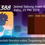 Jadwal Tarung Adu Ayam SV388 15 Mei 2019