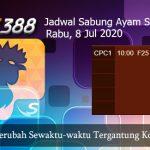 Jadwal Resmi Cockfight SV388 8 Juli 2020