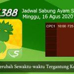 Jadwal Taruhan Sabung Ayam SV388 16 Agustus 2020
