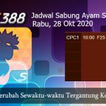 Pertandingan Sabung Ayam SV388 28 Oktober 2020